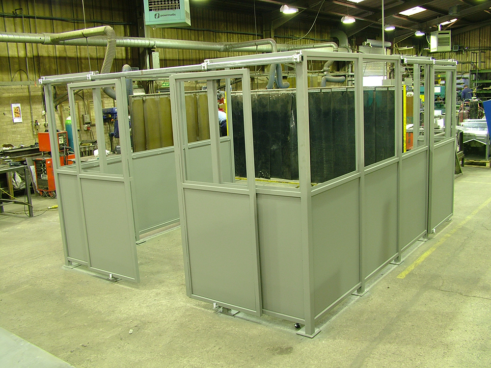 Steel Enclosures In Rotherham South Yorkshire Uk